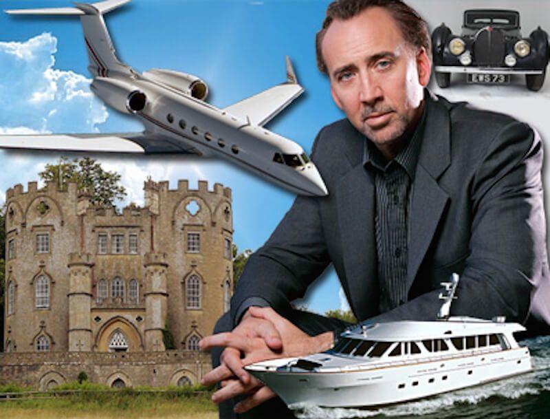 How Nicolas Cage Wildly Spent a $150 Million Fortune   FinanceBuzz