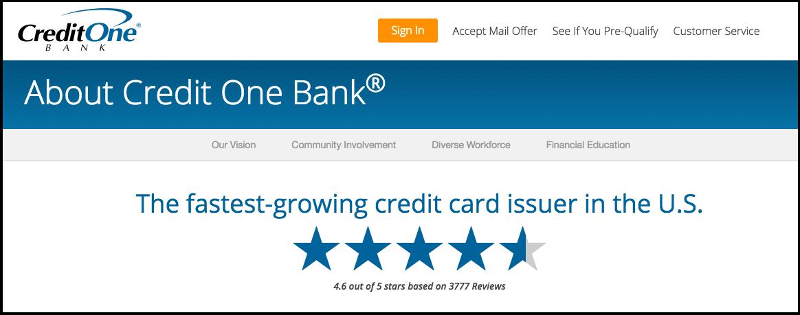 Chase Disney Credit Card Application: Credit One Bank Credit