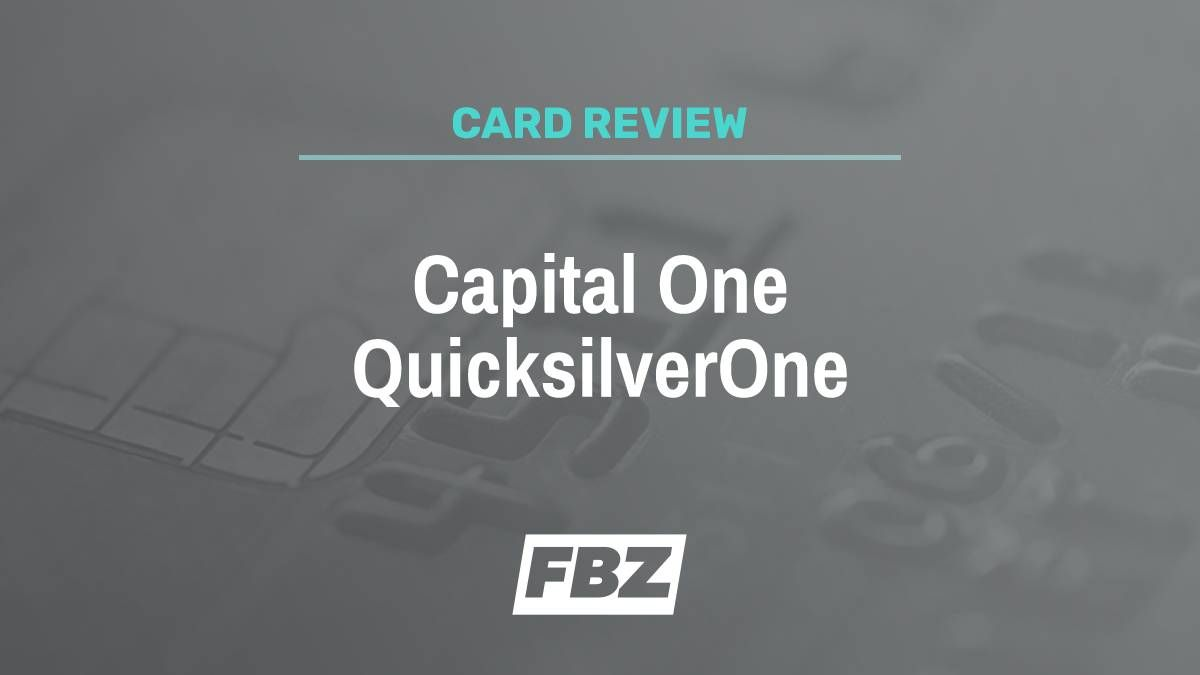 Capital one credit card quicksilver reviews