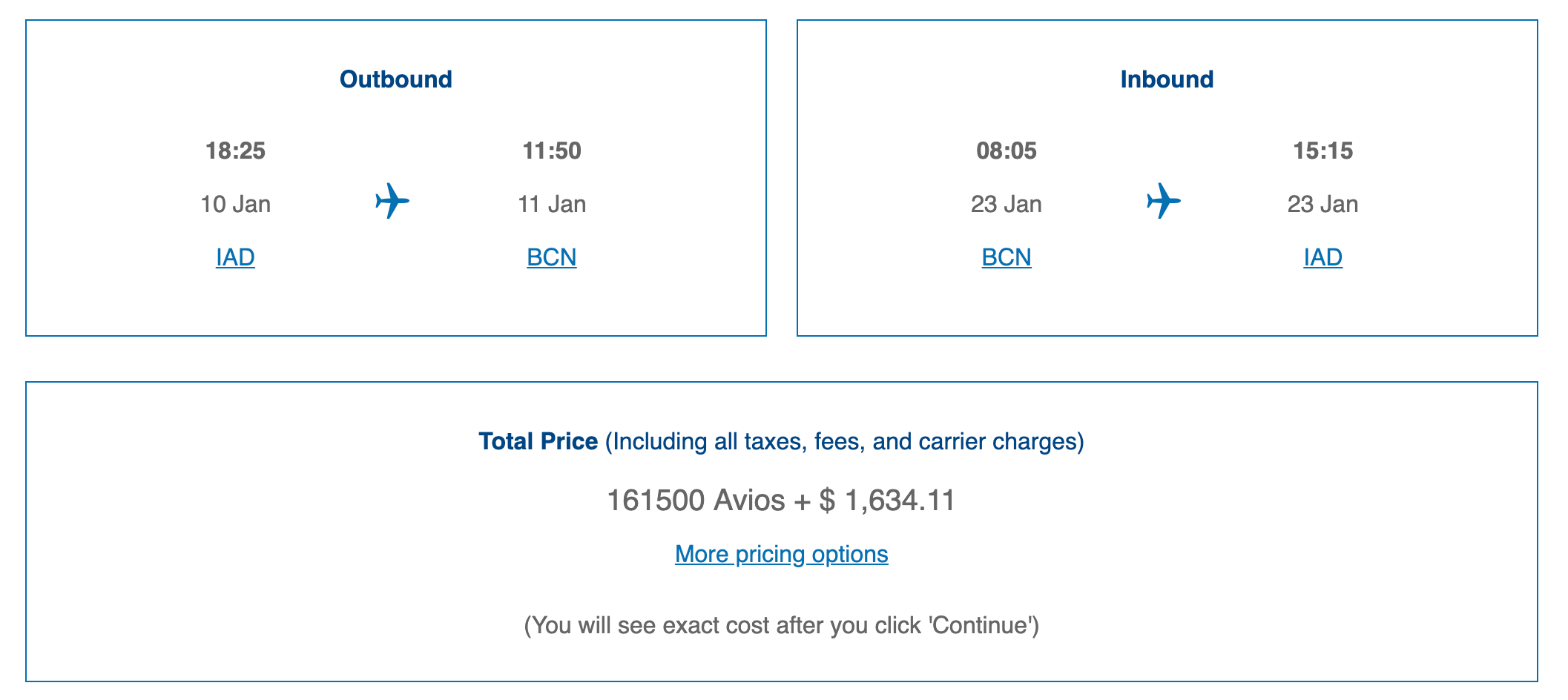First class to Europe with Chase points