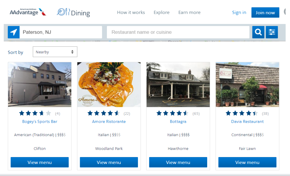 Aadvantage Dining Program How To Earn The Most Points Financebuzz